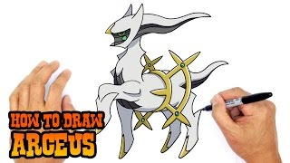 How to Draw Arceus | Pokemon