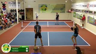 Pickleball Global All Star Event 2018   Game 5   Kyle Yates   Abbie David VS Aspen Kern   Lucy Kitch