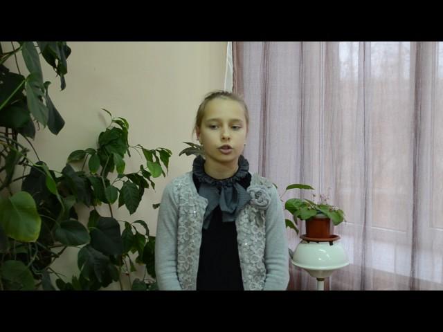 Изображение предпросмотра прочтения – ЕлизаветаШарова читает произведение «Свинья под дубом» И.А.Крылова