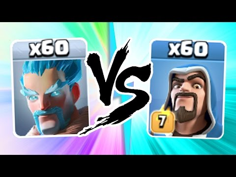 "Clash Of Clans - ""THE TRUTH"" - ICE WIZARDS vs WIZARDS!! - EPIC TROOP CLASH!"