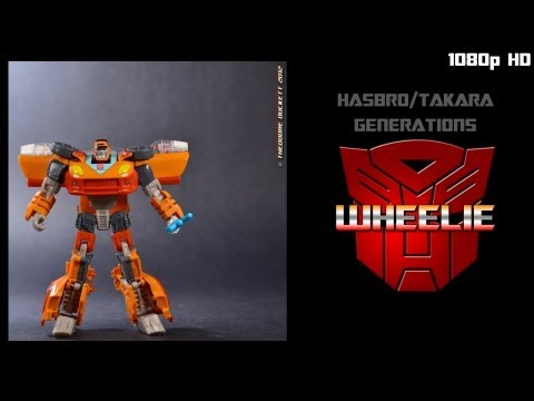 Toy Review: Transformers Generations deluxe classed Wheelie