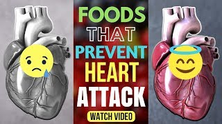 Foods That Will Prevent Heart Attack by 85% Naturally and Clean clogged arteries