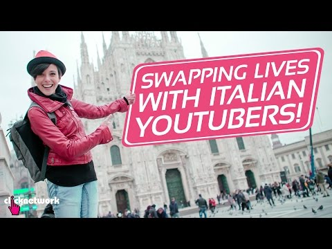 Swapping Lives With Italian YouTubers! - Hack It: EP48
