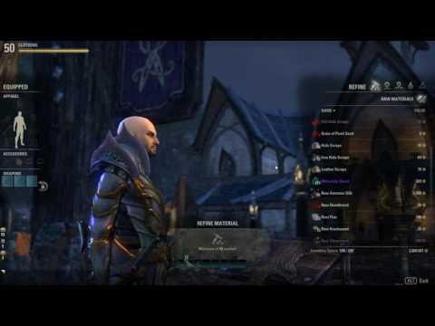 Elder Scrolls Online - One Tamriel - Refining 4,000 raw materials