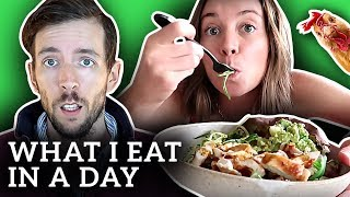 Nutritionist Reviews Bonny Rebecca's WHAT I EAT IN A DAY