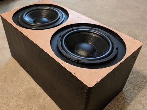 how-to-build-a-subwoofer.-passive-radiator-sub-build-part-1!