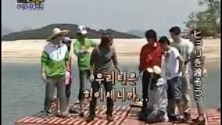 イ・ジュンギが出演!おもしろおかしい韓国バラエティ番組 前偏2/9