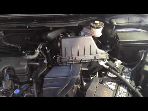 2016 Honda HRV Engine filter replacement