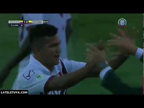 GOL DE SAMUEL SOSA️ - Venezuela 1 Colombia 0 Sudamericano Sub-20