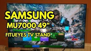 SAMSUNG MU7000 | FITUEYES TV STAND
