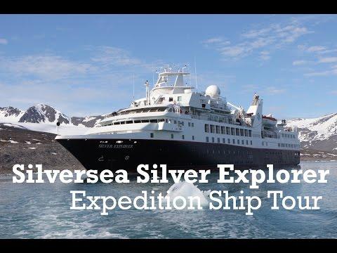 Silversea Silver Explorer Expedition Cruise Ship Tour