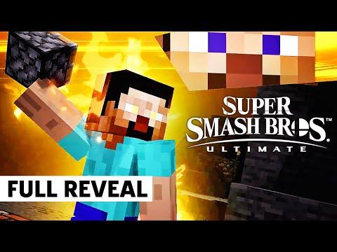 Super Smash Bros. Ultimate – Mr. Sakurai Presents Minecraft DLC Reveal