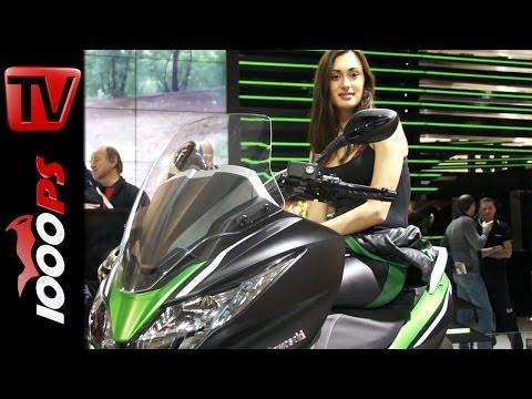 Kawasaki J300 2014 -Details & Informations Interview@Eicma 2013