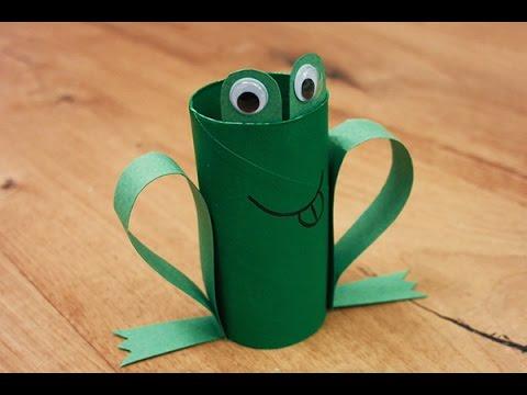 Bricolage la grenouille youtube - Bricolage bougie en carton ...