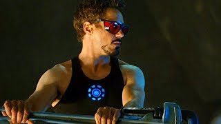 Tony Stark Creating New Element Scene - Iron-Man 2 (2010) Movie CLIP HD
