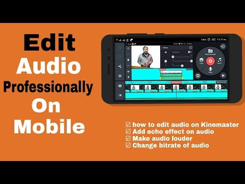 how to Edit audio professionally on mobile|Add echo effect on audio|Make audio louder