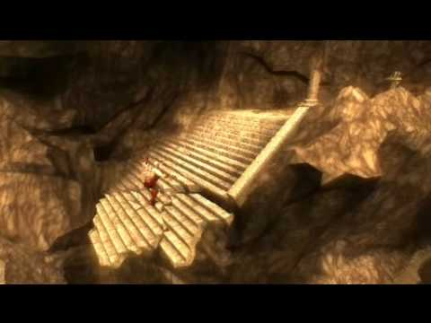 God of War Chains of Olympus - Hard Mode - Walkthrough - Part 14 - La Entrada del Inframundo - HQ