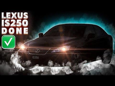 Сколько стоит живой Lexus is250?