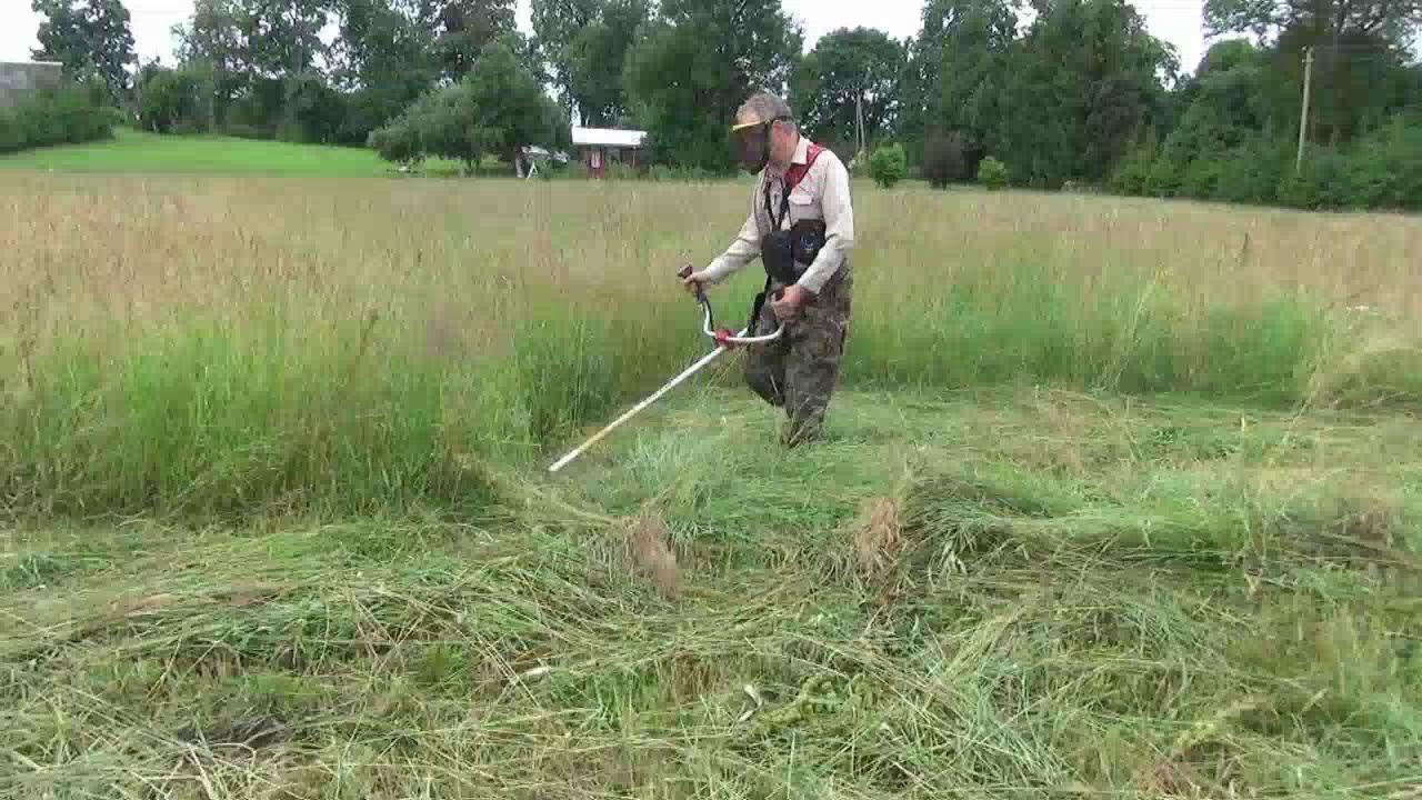 покос травы триммером сухиничи