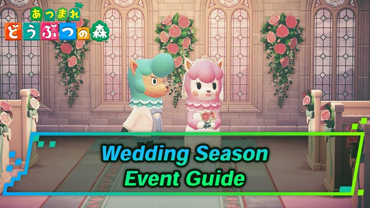 Acnh Wedding Season Event Items Rewards Animal Crossing Gamewith