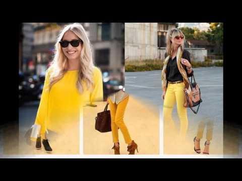 Todas las tendencias Como combinar el color amarillo en ropa