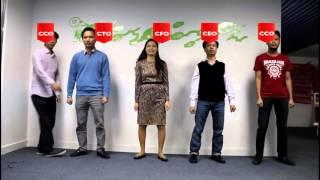 Ban giám đốc VTC Intecom nhảy flashmob mừng sinh nhật công ty 9 tuổi