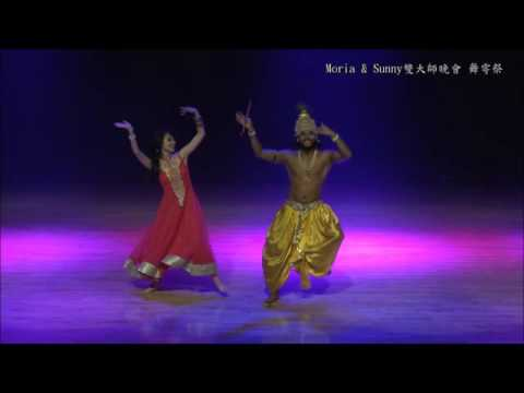 Sunny Singh and Aida Huang Bollywood Dance Krishna and Radha