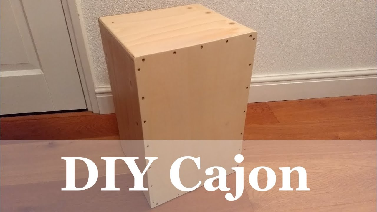 DIY Handmade Cajon - YouTube