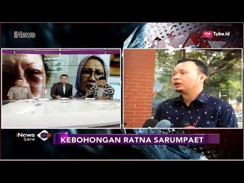 Kebohongan Terkuak, Begini Kata Kuasa Hukum Ratna Sarumpaet - iNews Sore 03/10