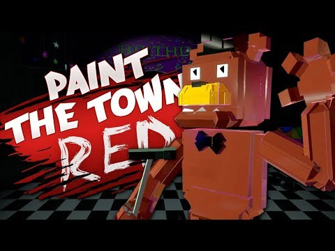 FREDDY'S SECRET LAB - Best User Made Levels - Paint the Town Red