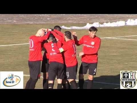 Virtus Bergamo 1909-Olginatese 5-0, 2° giornata di ritorno Serie D Gruppo B 2016/2017