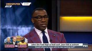 UNDISPUTED   Shannon DEBATE Lakers hire Frank Vogel as head coach, Jason Kidd as assistant