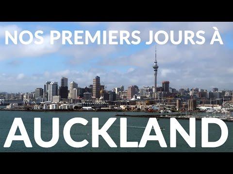 Nos premiers jours à Auckland !