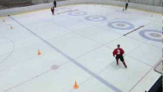 2012 Winter Youth Olympic Games - Ice Hockey Skills Challenge #6: Puck Control