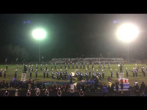 Deltona HS Blue Brigade Middle School Night Halftime Show 9/29/2017