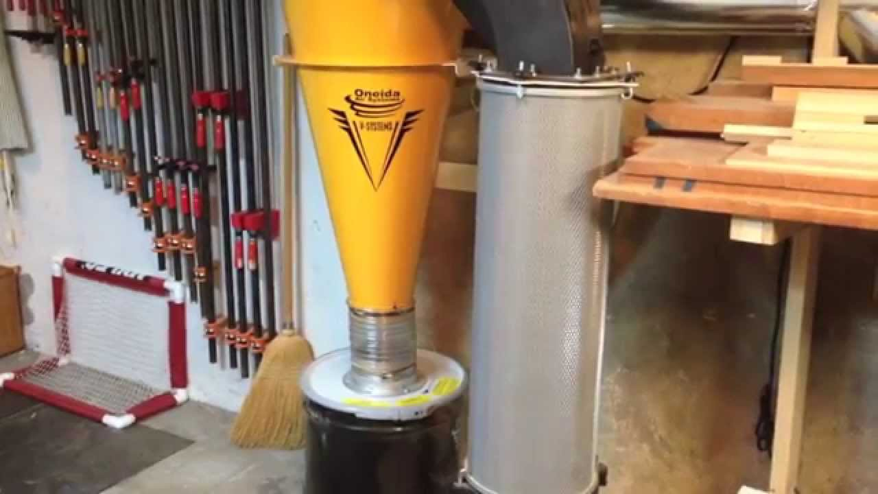 Oneida V3000 Cyclone Dust Collector Review Youtube