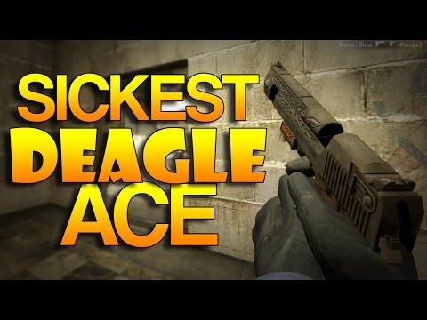 CS:GO - SICKEST Deagle Ace?!