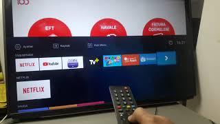 Arçelik Beko Grundig Altus Netflix tv ye telefon ekranı yansıtma