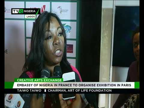 Creative Arts Exhibition: Nigeria Embassy in France to organ