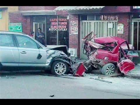 Investigan si conductor que causó accidente en Ubaté se pasó semáforo en rojo | Noticias Caracol
