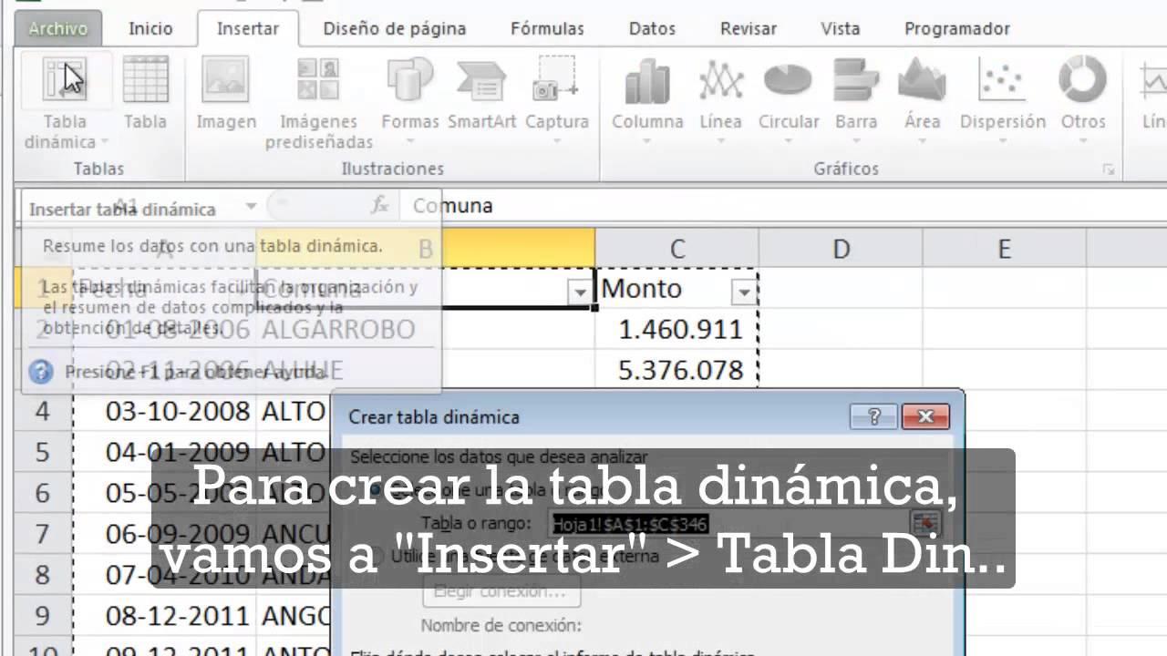 Download Cómo agrupar fechas en una Tabla dinámica
