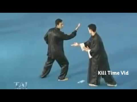 Funniest - Tai Chi Masters fighting