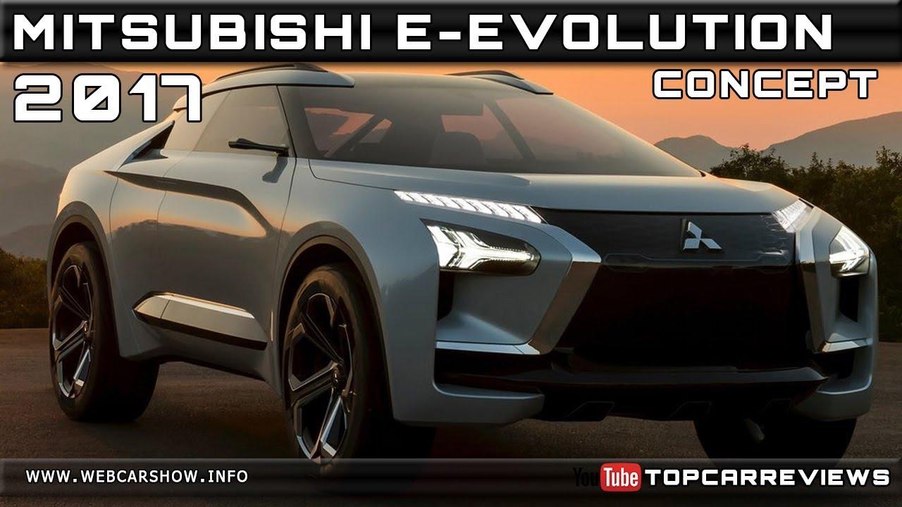 2017 mitsubishi e-evolution concept review rendered price specs