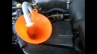 Réparation pompe à injection qui fuit sans démonter par vic. (NE PAS FAIRE) !