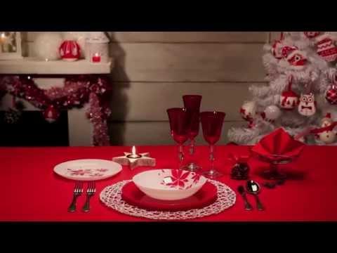 Come Apparecchiare La Tavola Di Natale: Rosso