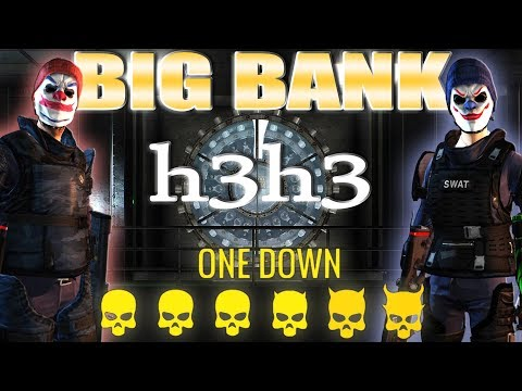 [Payday 2] H3H3 - Ethan & Hila tag team Big Bank