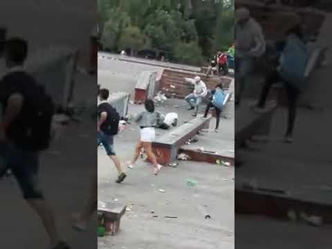 Salvaje golpiza a un joven en Berisso durante los festejos navideños