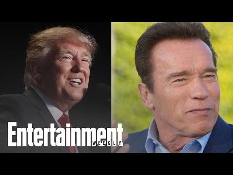 Arnold Schwarzenegger To Donald Trump: 'Let's Trade Jobs' | News Flash | Entertainment Weekly