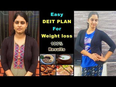 Easy Diet plan to Lose Weight Fast in Telugu |Daily Food for Weight Loss|Best weightloss tips telugu