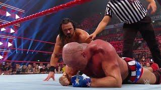 Kurt Angle Vs Drew McIntyre WWE Raw 05 11 2018 En Español